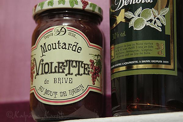 The famous Moutarde de Brive