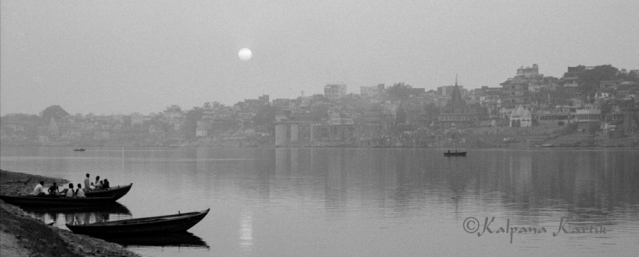 Along the sacred Ganges Varanasi India