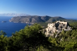 15th century fortress of Monolithos built by the Knights of Rhodes