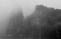 The mist of Huangshan