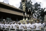 Royal cremation in Ubud in 2005