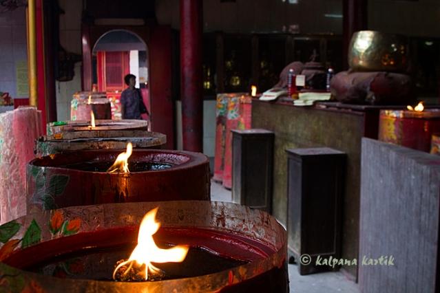 The oldest Chinese temple in Jakarta Vihara Dharma Bhakti (Cin Te Yen)