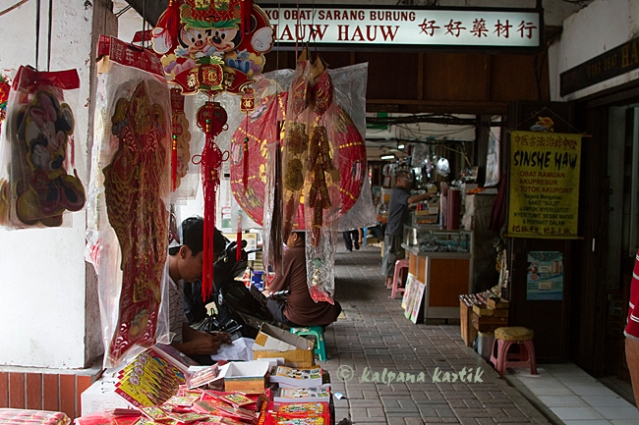 Chinese medicine shops in Glodok Chinatown Jakarta