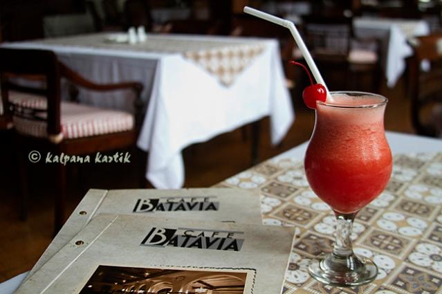 At the Cafe Batavia