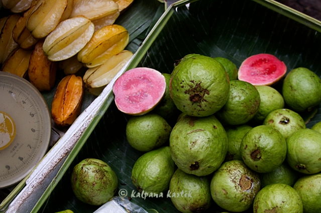 Guavas and star fruits