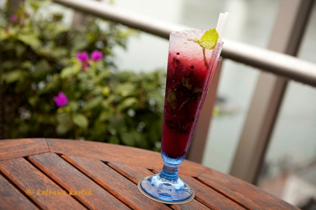 The Imperial Berry Mojito at the Lantern