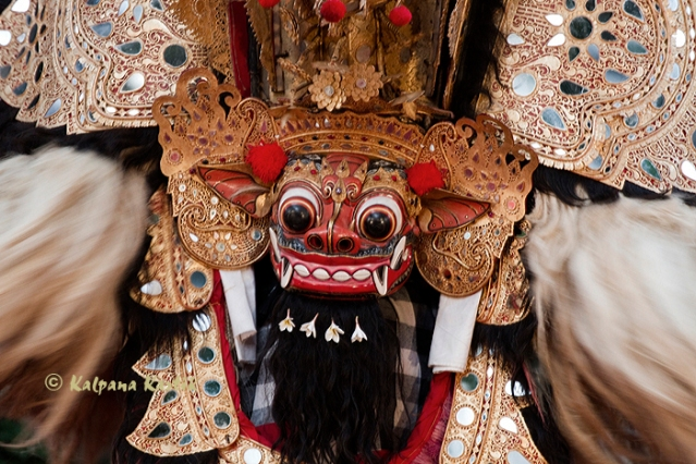 The mythical figure of Barong