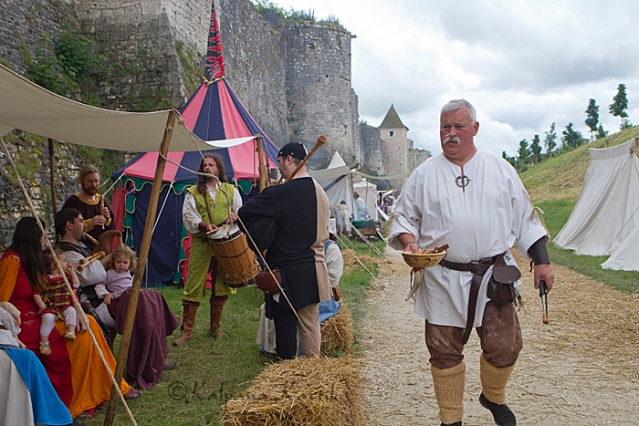 At the Medieval Fair in Provins