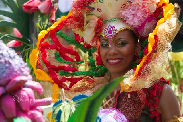 Vanessa Pereira-Nieto this years's Quees of the Tropical Summer Carnival in Paris