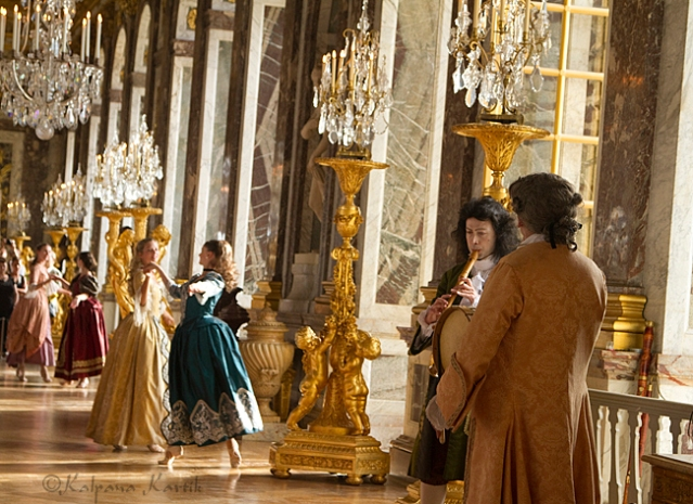 The Royal Serenade in the Hall of Mirrors