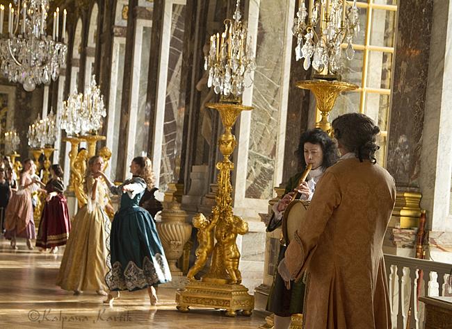 Baroque splendour in Versailles…