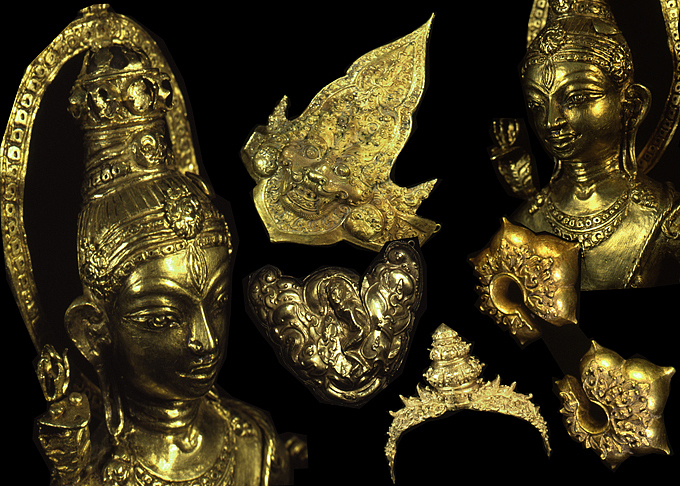 Ancient Javanese Gold collection in Jakarta National Museum