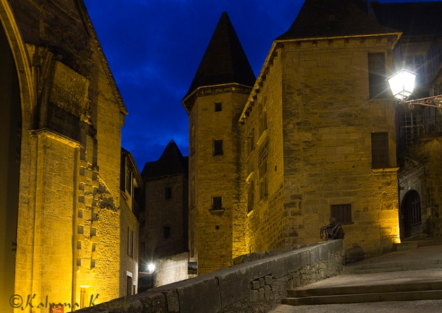 Twilight at the Medieval city of Sarlat