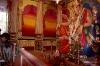 Worshipping Ganesh in Mumbai, India