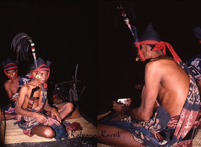 "Vilage ""Rato"" performing the full moon rituals during the Nyale ceremony"