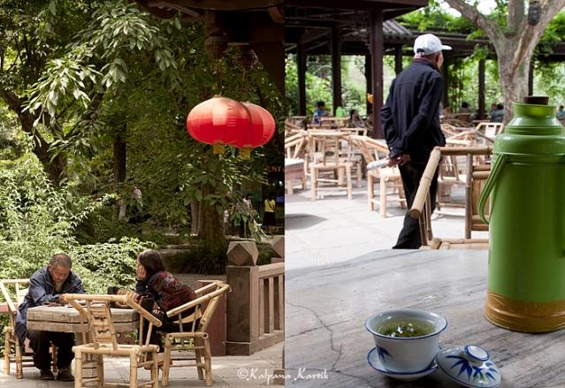 Renmin Park Tea House Chengdu