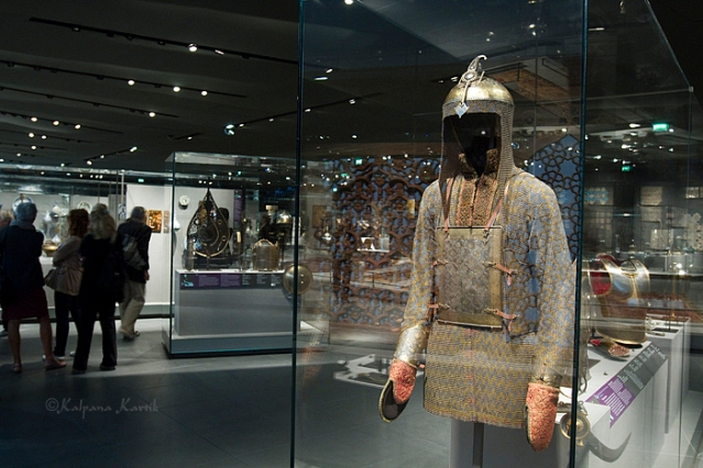 18th century Mughal armor at the Louvre
