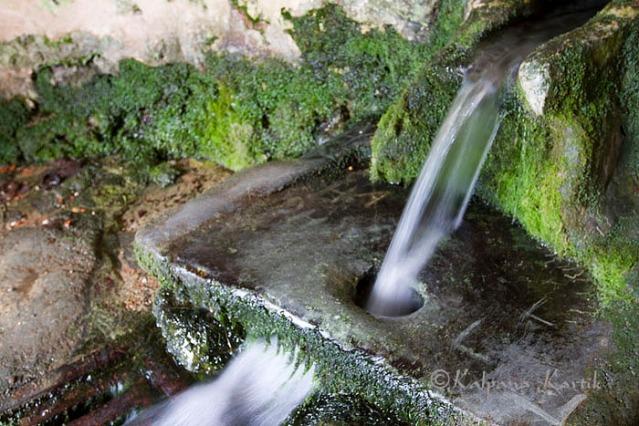 The sacred spring of Sainte Aubierge