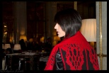 Tex Saverio at Le Meurice Hotel Paris , France