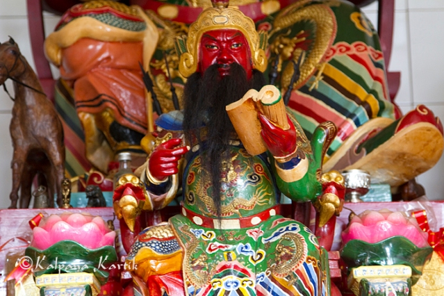 Kwan Kung Chinese god of business and wealth