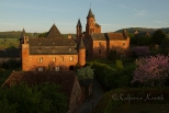 Collonges la Rouge at sunrise