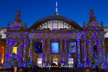 Sound and Light show at the Grand Palais for the Art Fair
