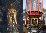 Temple of the thousand Buddhas dedicated to Guanyin, Bodhisattva of Compassion