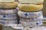 Unpasteurised soft cheese produced by the Cistercian monks of Tamie Abbey,  French Alps of Savoie