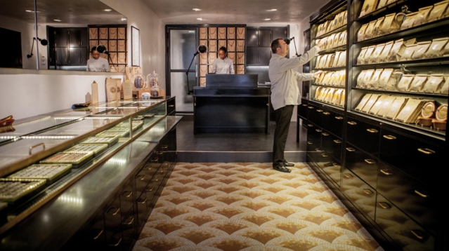 Alain Ducasse chocolate shop