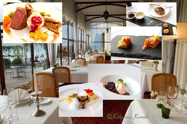 Creative cuisine at the gastronomic restaurant Le Tapis Rouge
