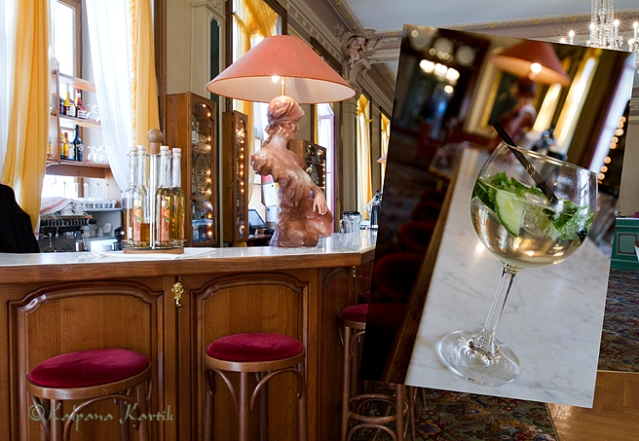The Bar at the Grand Hotel Giessbach
