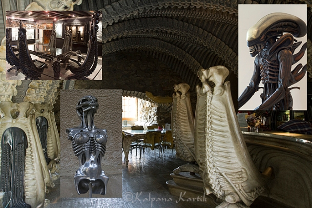 HR Giger bar and museum
