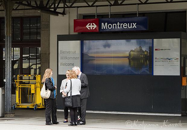 Montreux train station