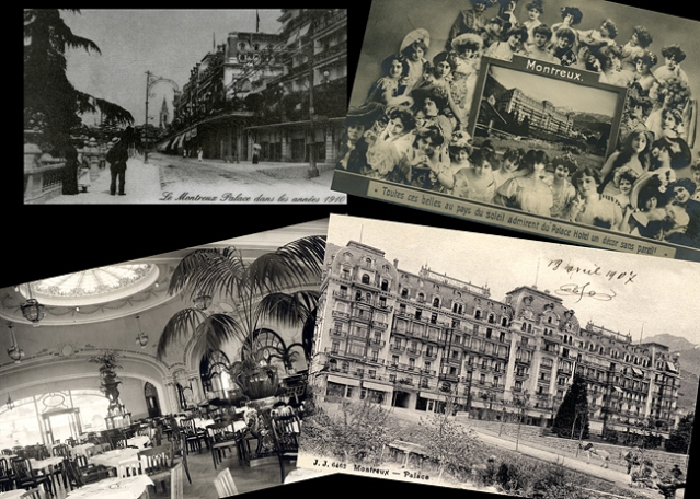 Old pictures of Montreux Palace (Arch. Montreux Palace)