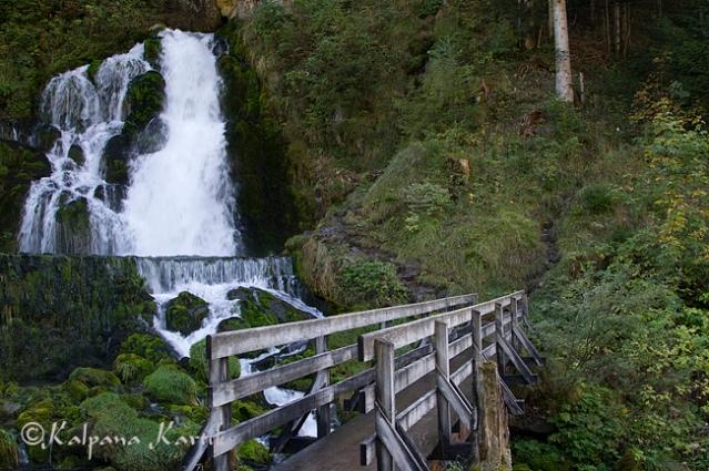 The wonderful Jaun waterfall