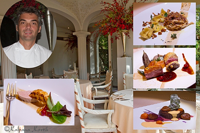Christian Bertogna Chef at the restaurant Le Relais Villa Castagnola