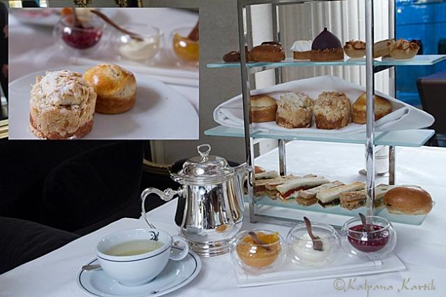 Afternoon tea at Le Dali