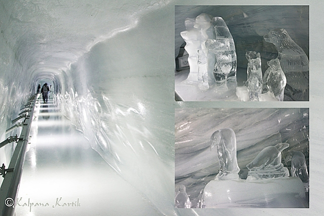 The Ice Palace at the Jungfraujoch