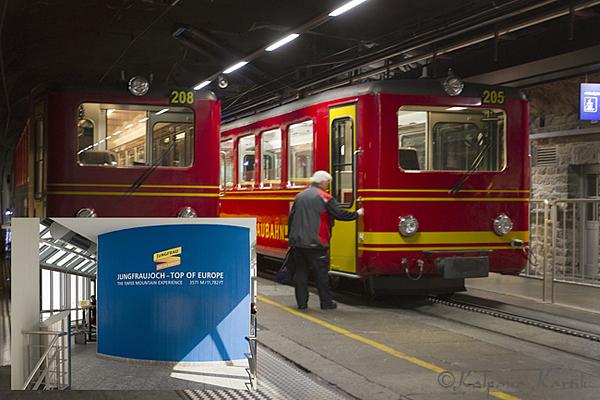 Jungfraujoch station
