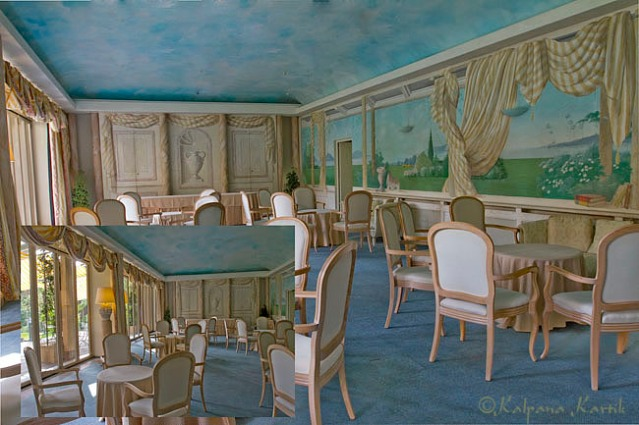 A meeting room at Villa Castagnola