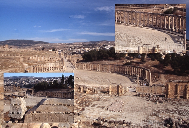 The ancient city of Jerash in Jordan