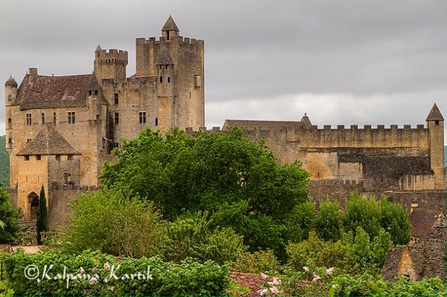 The lovely fortified Beynac castle