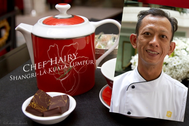 Chef Hairy from Shangri-La Kuala Lumpur