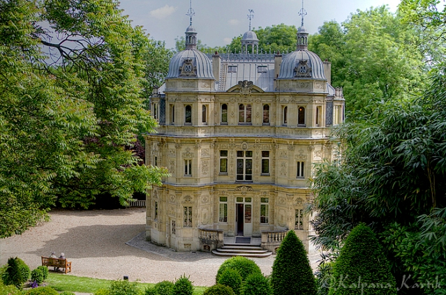 Castle Monte Cristo home of  Alexandre Dumas