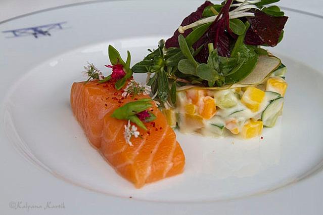 Salmon L'Osieau Blanc style