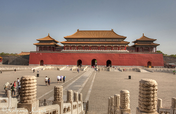 The Forbidden City : rise of anempire