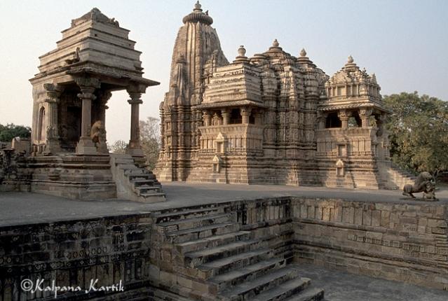 Temple of Khajuraho Madya Pradesh India