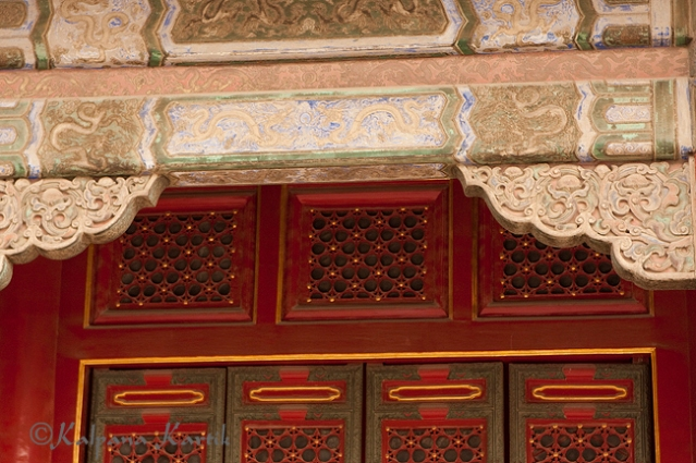 Elegant architectural beauties at the Forbidden City, Beijing