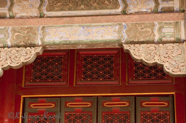 Elegant architectural beauties at the Forbidden City, Beijing