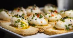 Poached eggs Le Relais du Parc style